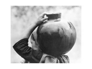Woman with Olla, Mexico, c.1927 by Tina Modotti