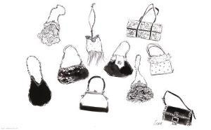 Ten Handbags by Tina