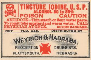 Tincture Iodine U.S.P.