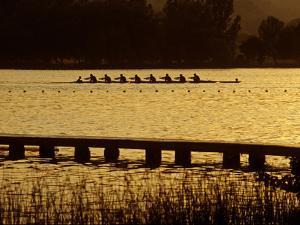 Crew Practice on Lake Banyoles by Tino Soriano