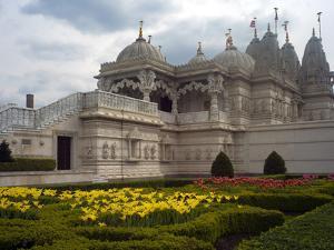Shri Swaminarayan Mandir, Europe's First Traditional Hindu Temple by Tino Soriano
