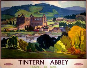 Tintern Abbey, Travel by Rail