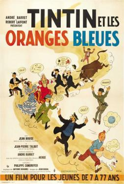 Tintin and the Blue Oranges - French Style