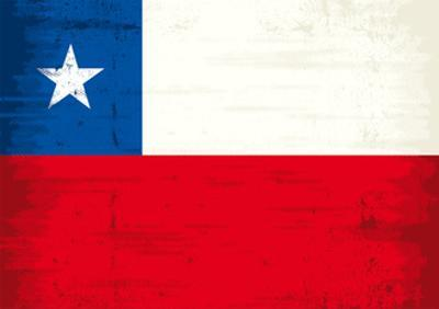 Chilean Grunge Flag. A Grunge Flag Of Chile With A Texture