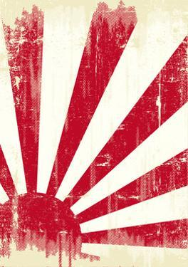 Grunge Japan Flag. An Old Japan Grunge Flag For You by TINTIN75