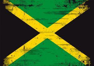 Jamaican Grunge Flag An Old Jamaican Flag Whith A Texture by TINTIN75