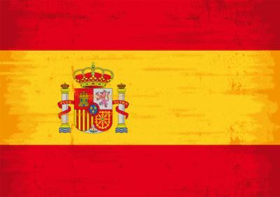 Spanish Grunge Flag. A Flag Of Spain With A Texture