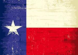 Texas Grunge Flag by TINTIN75