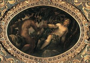 Original Sin by Tintoretto