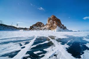 Landscape of Lake Baikal in Winter by Tiplyashin Anatoly