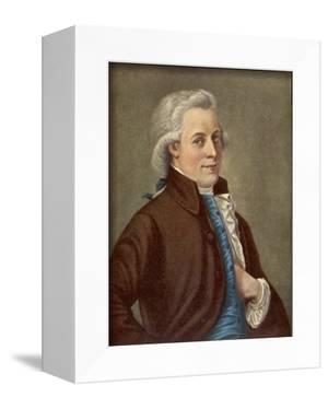 Wolfgang Amadeus Mozart Austrian Composer by Tischbein