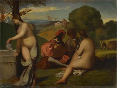 The Pastoral Concert, 1838-43 by Titian