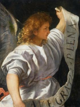 Averoldi Polyptych (detail) by Titian (Tiziano Vecelli)