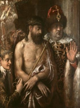 Christ Shown to the People (Ecce Homo) C.1570-76 by Titian (Tiziano Vecelli)