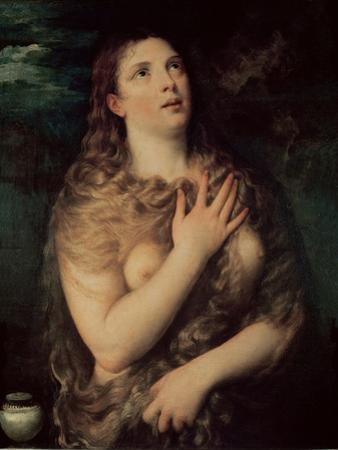 Mary Magdalene by Titian (Tiziano Vecelli)