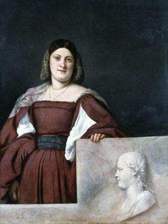 Portrait of a Lady, La Schiavona (The Dalmatian Woman), C1510-1512 by Titian (Tiziano Vecelli)