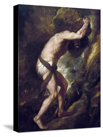 Sisyphus by Titian (Tiziano Vecelli)