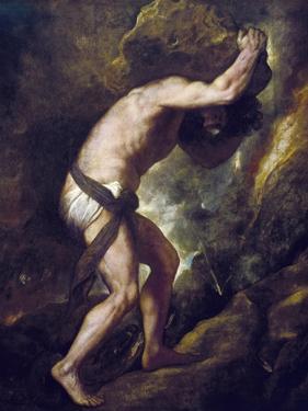 Sisyphus by Titian (Tiziano Vecelli)
