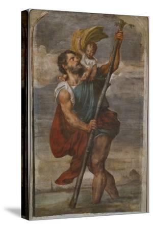 St. Christopher, 1523-24 by Titian (Tiziano Vecelli)