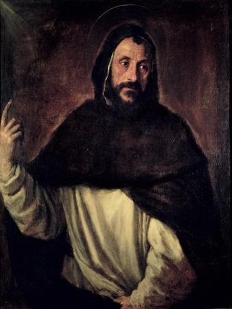 St. Dominic by Titian (Tiziano Vecelli)