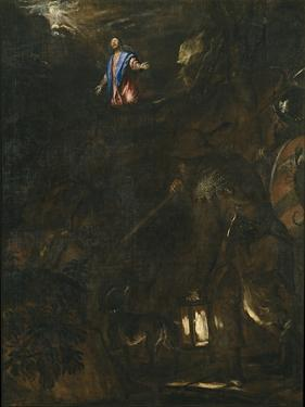 The Agony in the Garden, 1562 by Titian (Tiziano Vecelli)