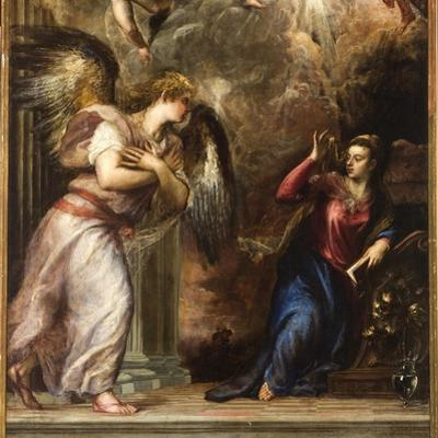 The Annunciation by Titian (Tiziano Vecelli)