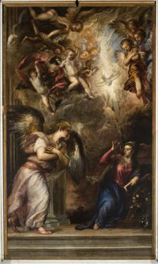 The Annunciation by Titian (Tiziano Vecelli)