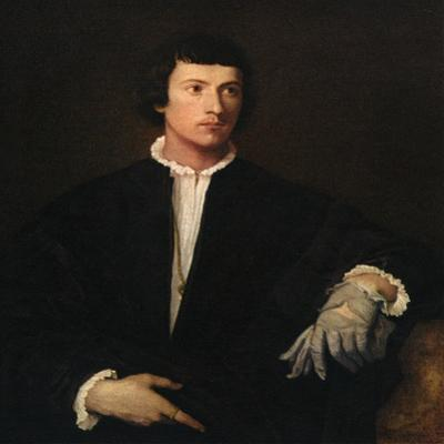 The Man with a Glove, C1520 by Titian (Tiziano Vecelli)