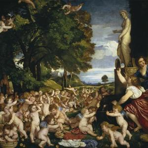 The Offering to Venus, 1518-1519 by Titian (Tiziano Vecelli)
