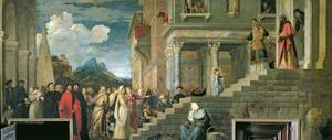 The Presentation of the Virgin in the Temple, 1534-38 by Titian (Tiziano Vecelli)