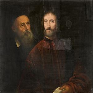 Titian and Andrea De Franceschi, C.1639 by Titian (Tiziano Vecelli)