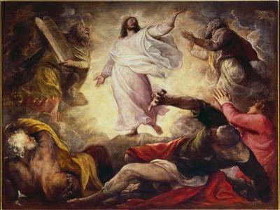 Transfiguration, 1560 by Titian (Tiziano Vecelli)