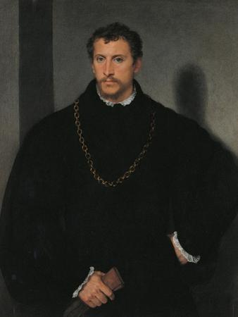 Young Englishman by Titian (Tiziano Vecelli)