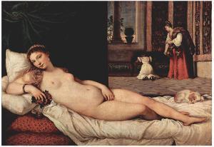 Titian (Venus of Urbino) Art Poster Print