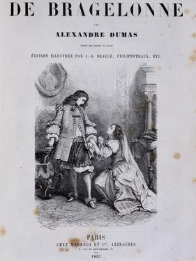 Title Page of Viscount De Bragelonne