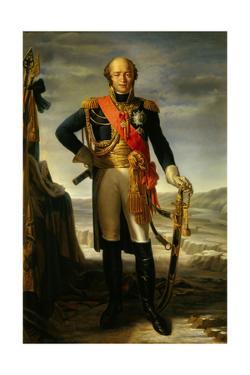 Louis Nicolas Davout, Duke of Auerstaedt, 1852 by Tito Marzocchi de Bellucci