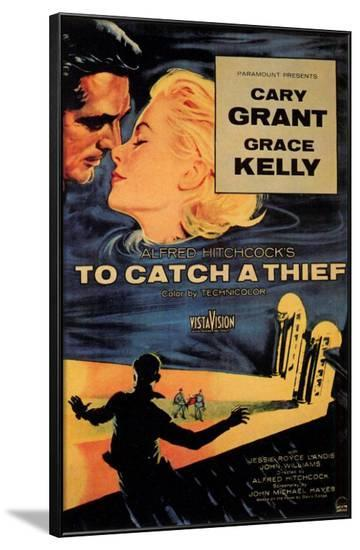 To Catch a Thief--Framed Poster