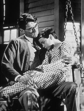To Kill A Mockingbird, Gregory Peck, Philip Alford, 1962