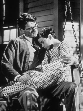 To Kill A Mockingbird, Gregory Peck, Philip Alford, 1962