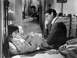To Kill A Mockingbird, Mary Badham, Gregory Peck, 1962