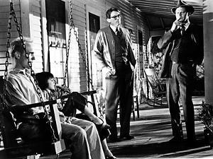 To Kill a Mockingbird, Robert Duvall, Mary Badham, Gregory Peck, Frank Overton, 1962