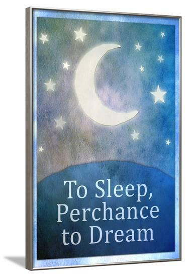 To Sleep Perchance To Dream--Framed Poster