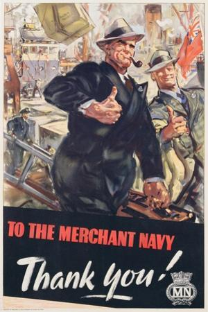 To the Merchant Navy, Thank You!', 1951