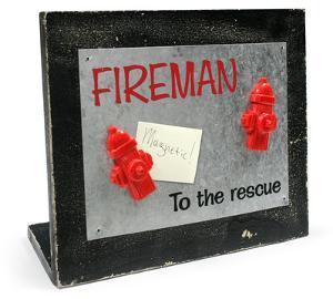 To The Rescue Memo Board