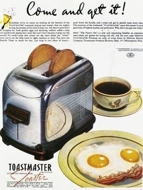 Toaster Ad, 1938