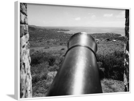 Tobago Cannon--Framed Photographic Print