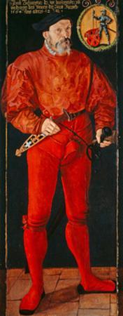 Portrait of the Zurich Standard-Bearer Jacob Schwytzer, 1564