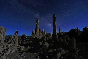 Beautiful Landscape Image of the Tufas of Mono Lake by tobkatrina