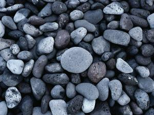 Rocks on the Beach of Hana Bay by Todd Gipstein