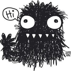 Hi Monster by Todd Goldman